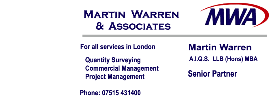 Quantity Surveyor London